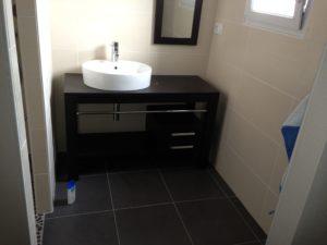 agencement salle de bains