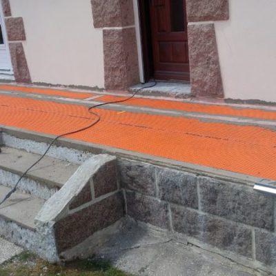 Préparation terrasse(étanchéité)